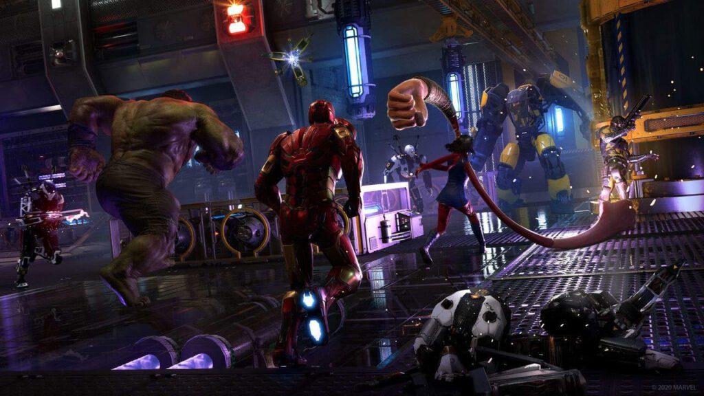 marvel's avengers game length
